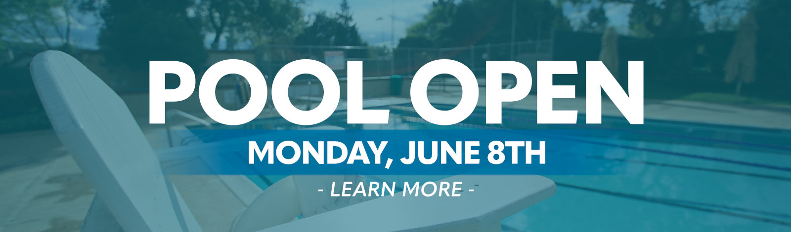 Pool Open June 8th